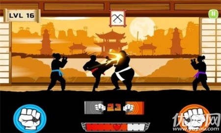空手道战士(Karate Fighter : Real battles)